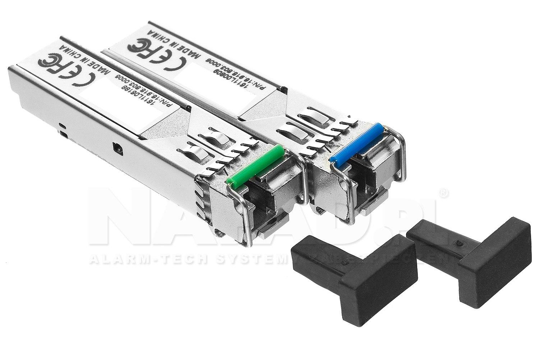 Komplet modułów światłowodowych SF-SM31WD020D-GP + SF-SM55WD020D-GP