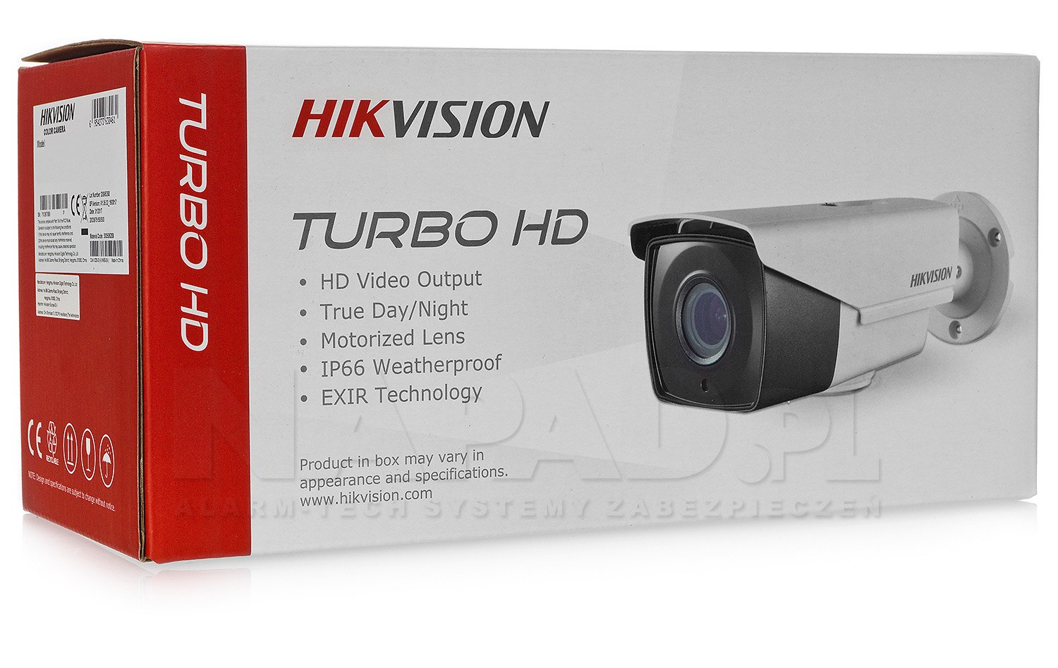 Kamera HD-TVI 2Mpx DS-2CE16D8T-IT3ZE