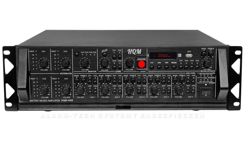 Wzmacniacz PA HQM4060 4x60W 4-strefowy