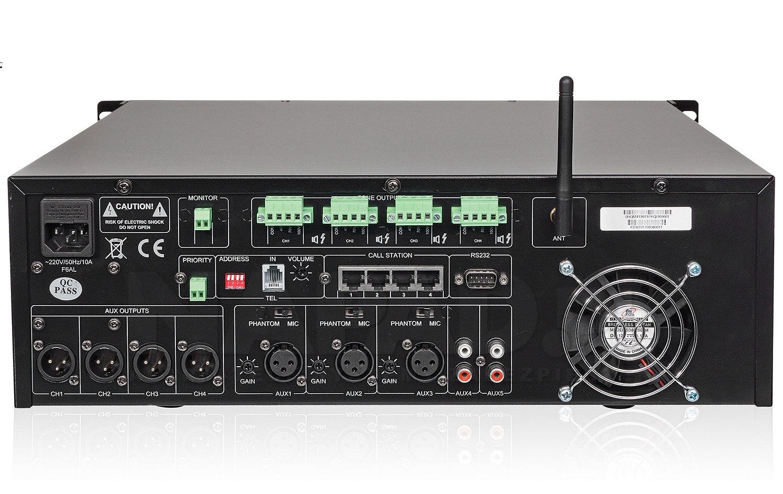 Wzmacniacz PA HQM4120 4x120W 4-strefowy