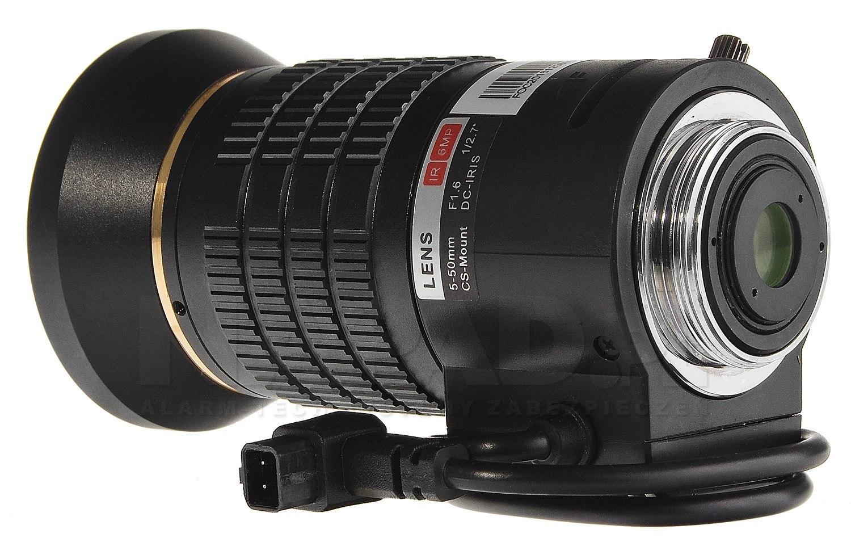 Obiektyw megapikselowy 5-50mm DH-PFL0550-E6D