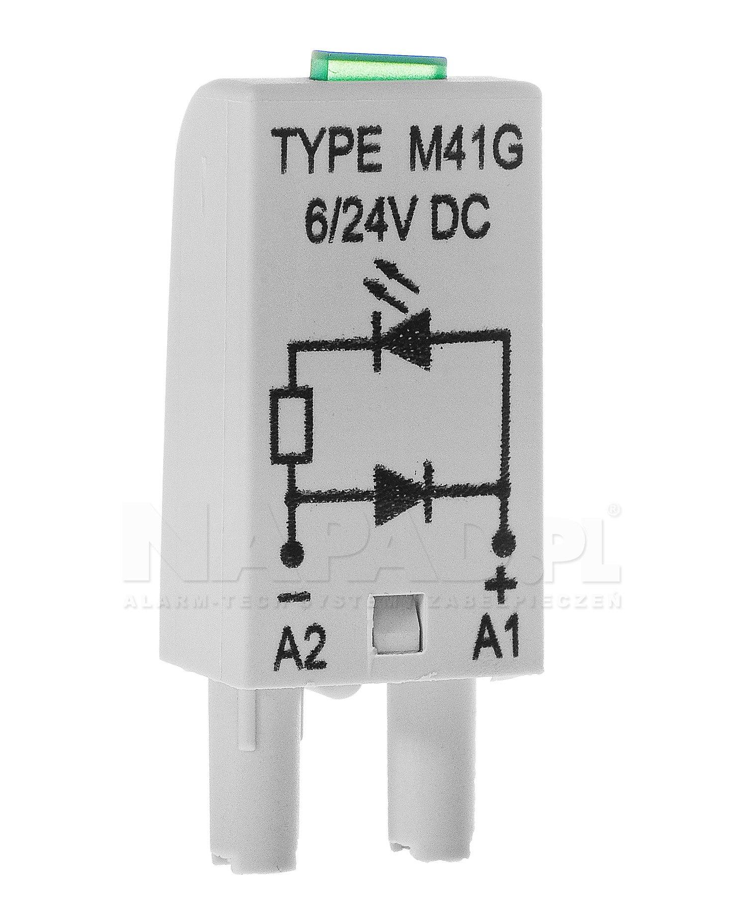 Moduł LED RM85-LED-12V do przekaźnika