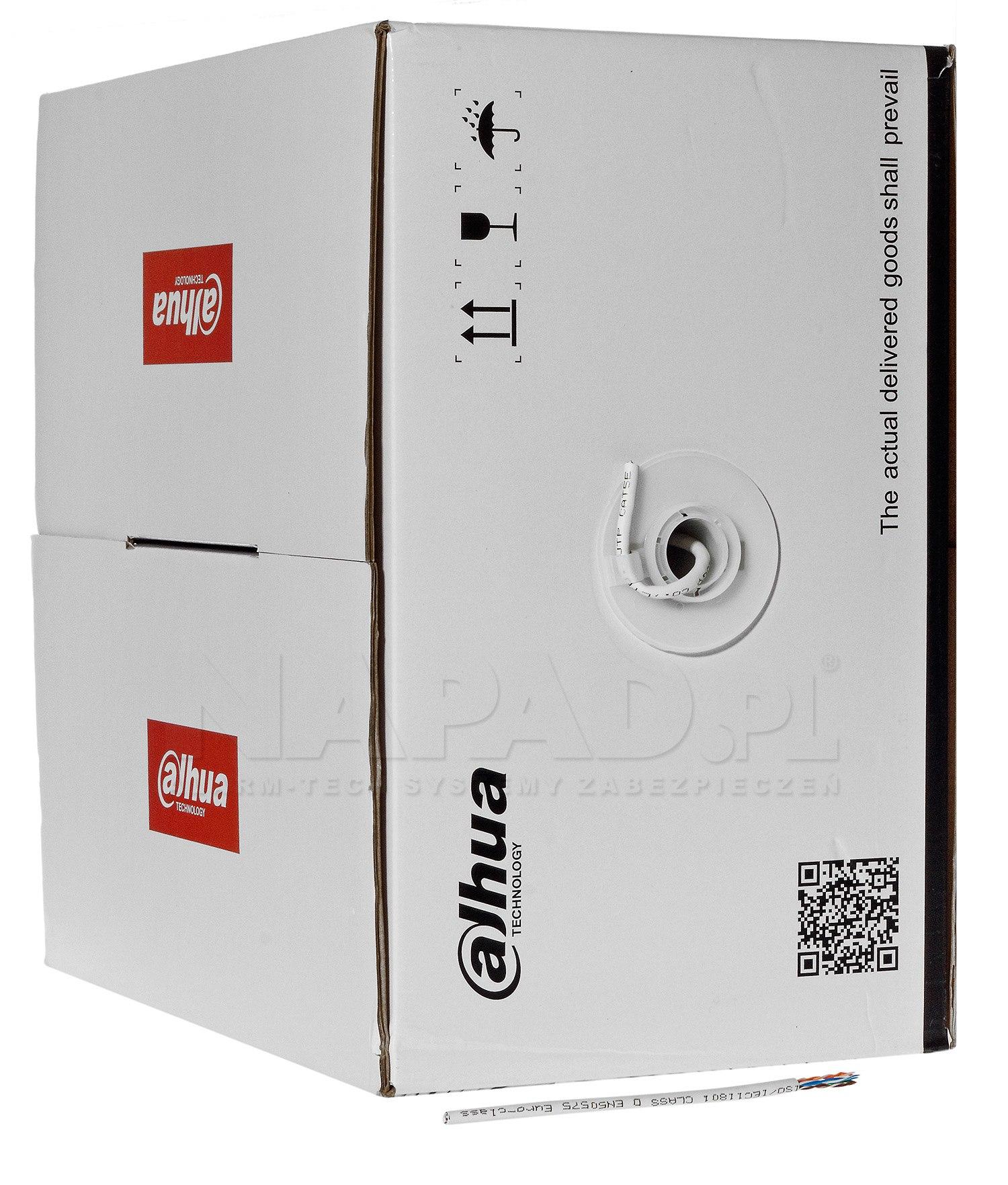 Kabel LAN U/UTP kat.5e Dahua PFM920I-5EUN 305m