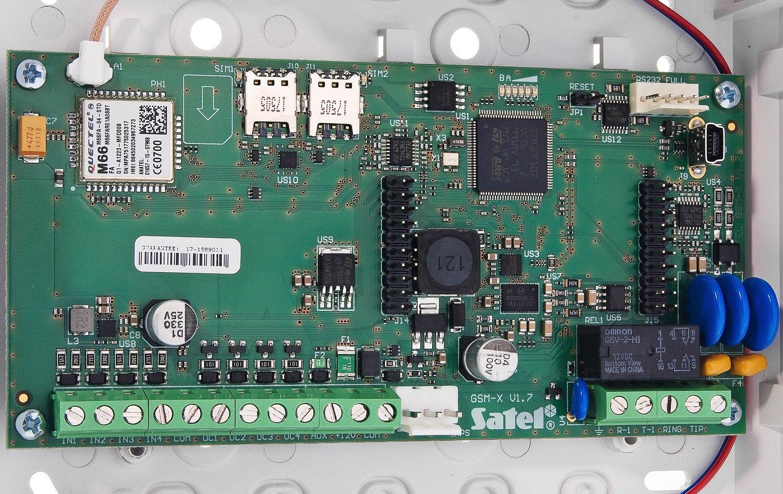 Uniwersalny moduł komunikacyjny GSM-X
