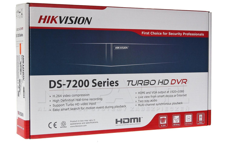 Rejestrator DS-7208HUHI-K1