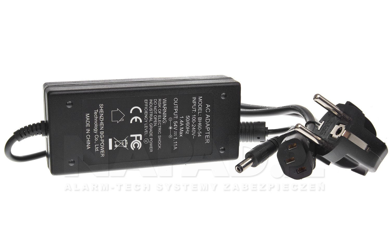 Zasilacz impulsowy do switchy PoE 60W
