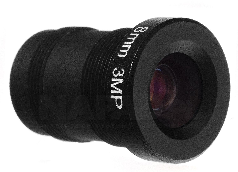 Obiektyw megapikselowy MINI 8mm (2Mpx)