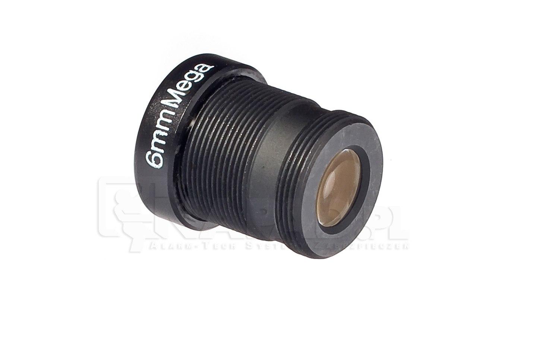 Obiektyw megapikselowy MINI 6mm (2Mpx)