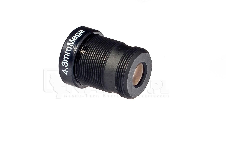 Obiektyw megapikselowy MINI 4.3mm (2Mpx)