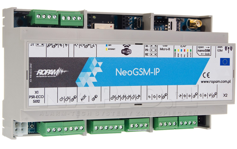 Centrala alarmowa NeoGSM-IP