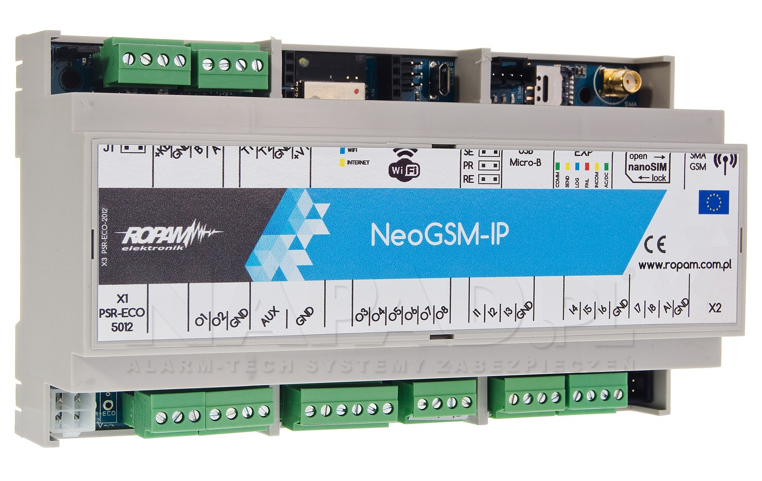 Centrala alarmowa NeoGSM-IP-D9M