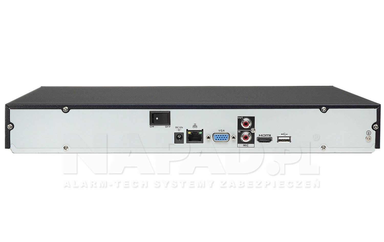 Rejestrator sieciowy DHI-NVR2204-P-S2