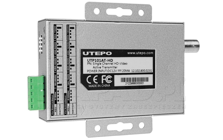 1-kanałowy aktywny nadajnik wideo UTP101AT-HD