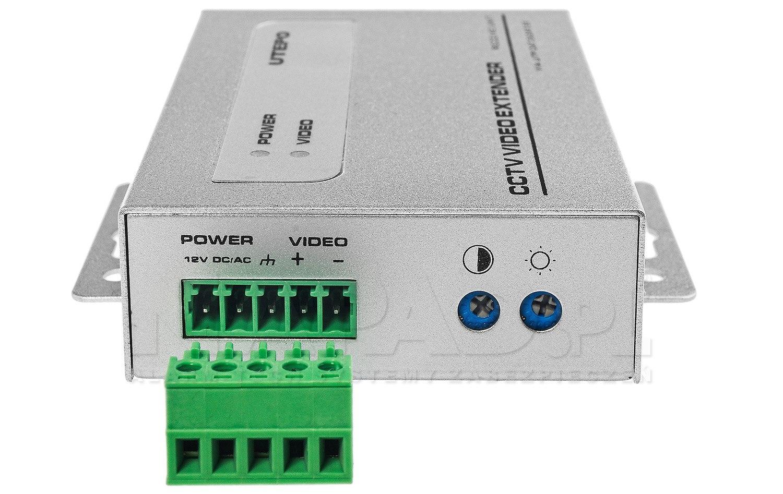 1-kanałowy aktywny odbiornik wideo UTP101AR-HD