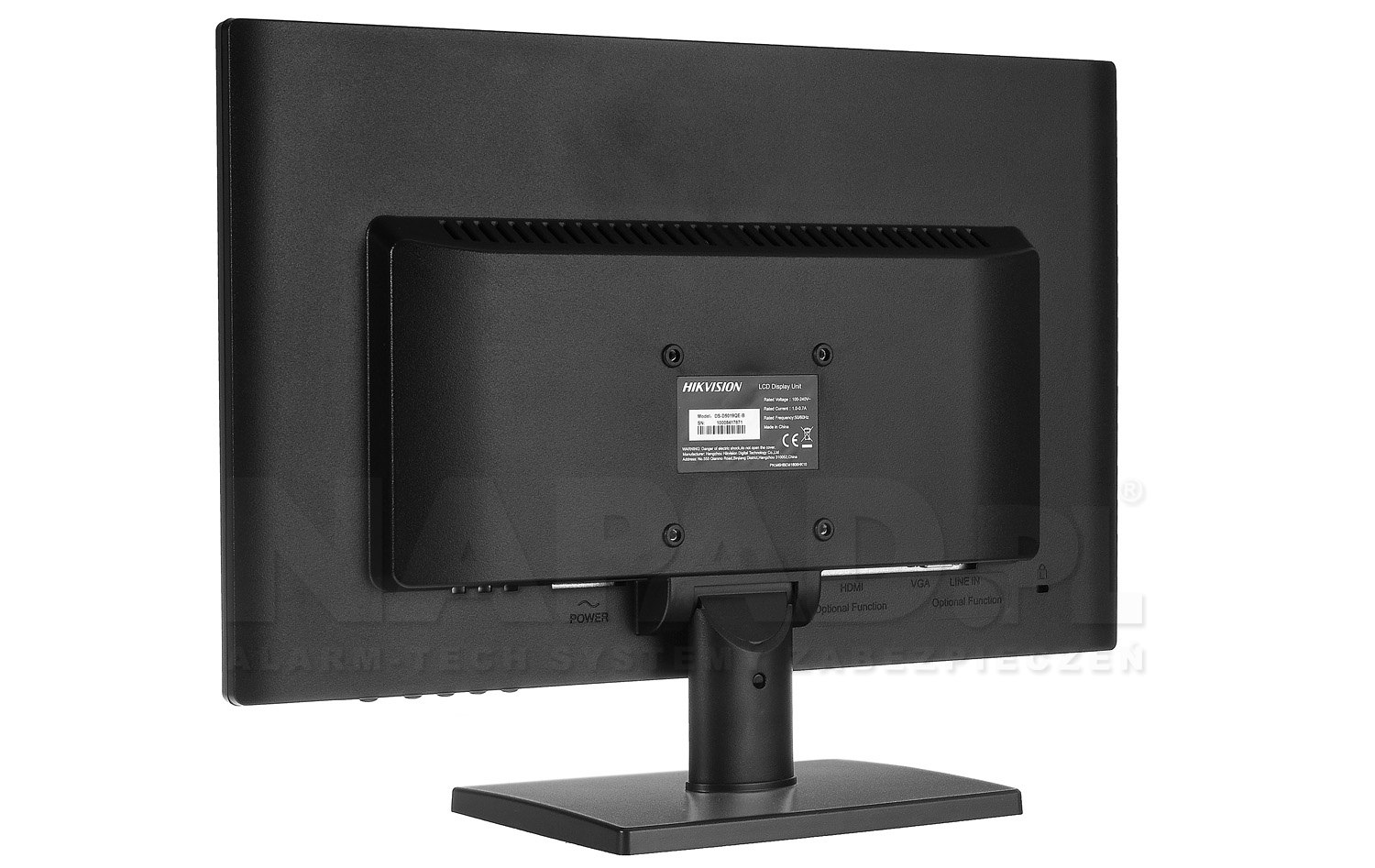 Monitor LED DS-D5019QE-B 18.5