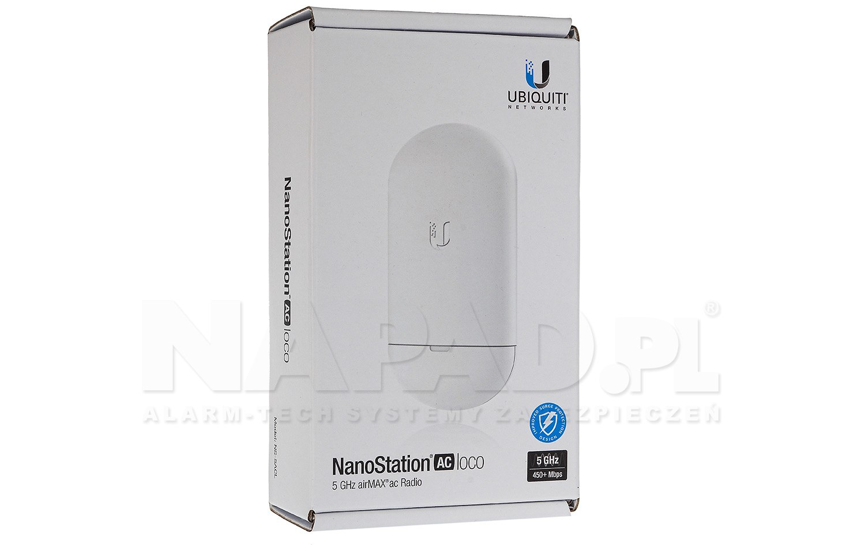 Punkt dostępowy NanoStation 5AC Loco NS-5ACL