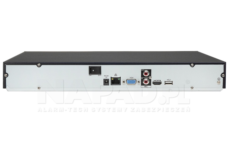 Rejestrator sieciowy DHI-NVR2208-8P-4KS2