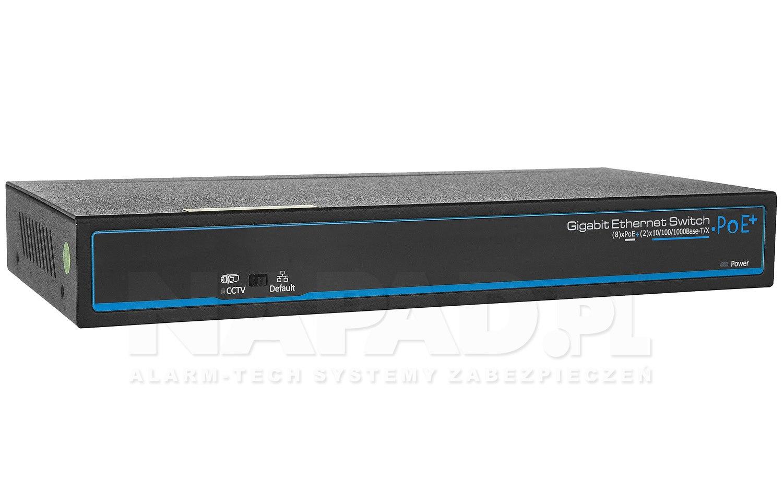 Gigabitowy switch 8-portowy PX-SW8G-SP120-U2G