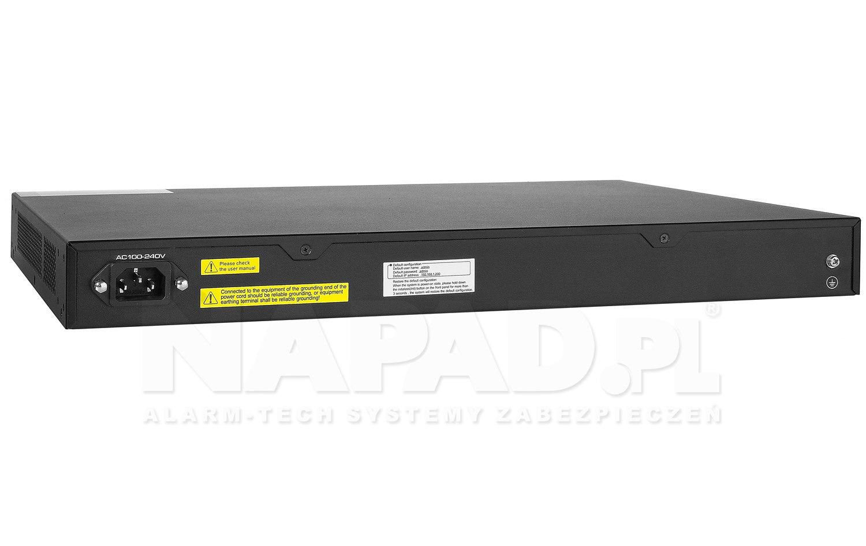 Gigabitowy switch 24-portowy UTP7524GE-POE-K