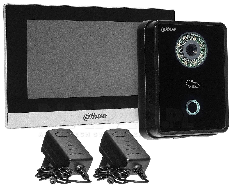 Zestaw wideodomofonowy IP VTKB-VTO6210B-VTH1510CH