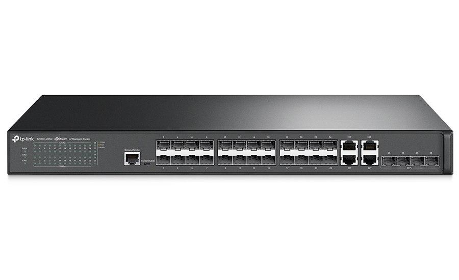 10-gigabitowy switch, 28-portowy T2600G-28SQ