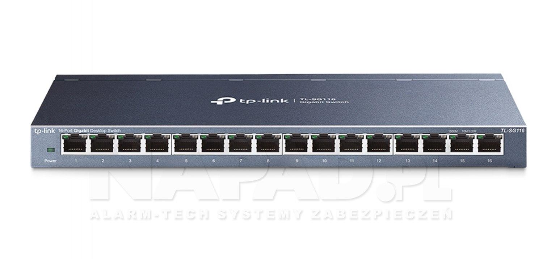 Switch gigabitowy, 16-portowy TL-SG116