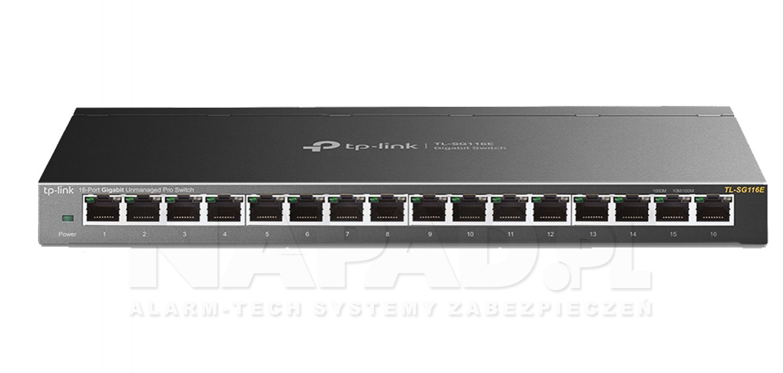 Switch gigabitowy, 16-portowy TL-SG116E