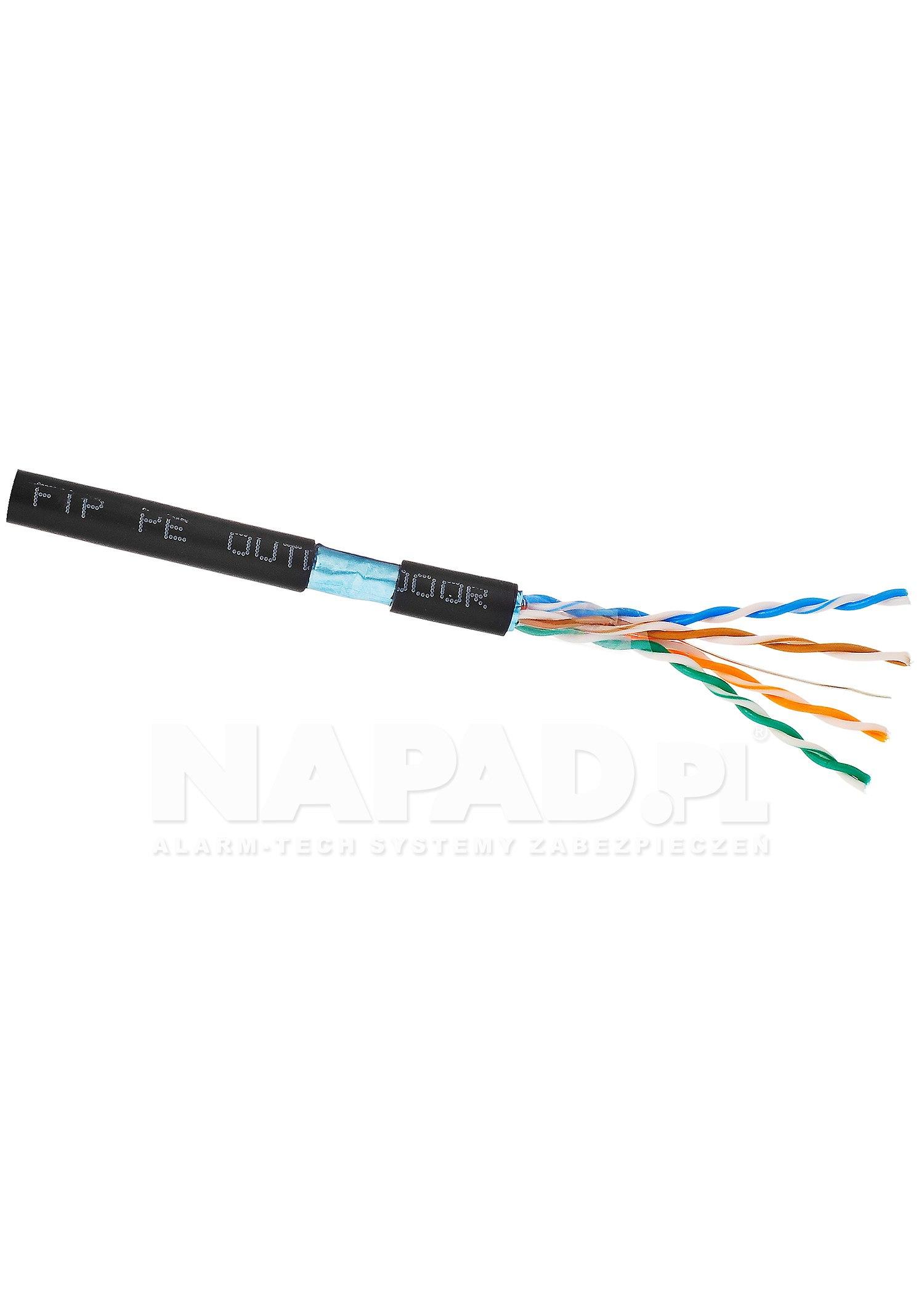 Kabel LAN F/UTP kat.5e Solarix SXKD-5E-FTP-PE UV