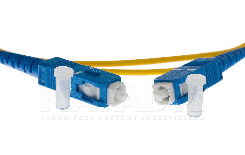 Patchcord optyczny jednomodowy SC-SC 9/125 1m simplex