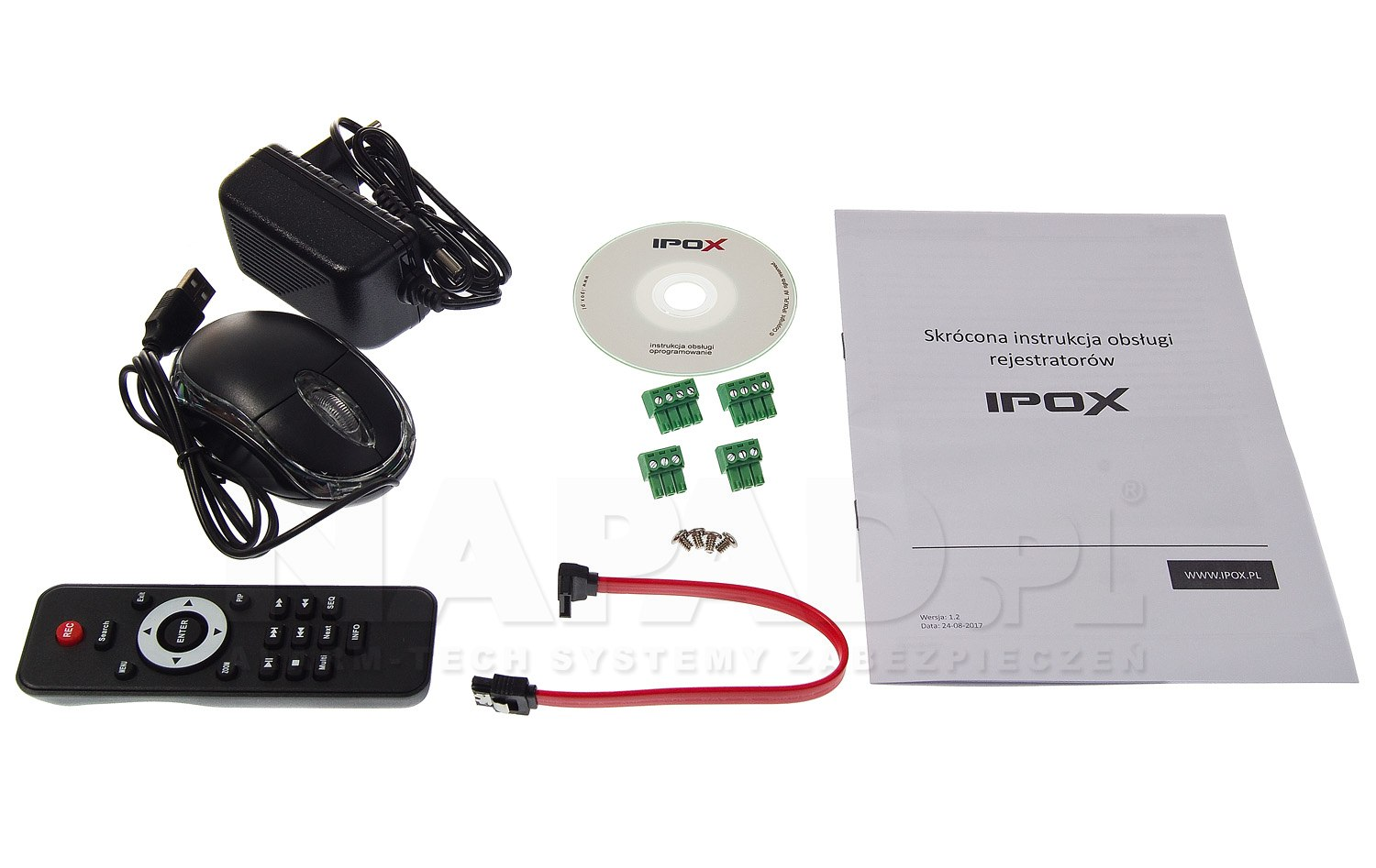 Rejestrator PX-HDR0821H-8A