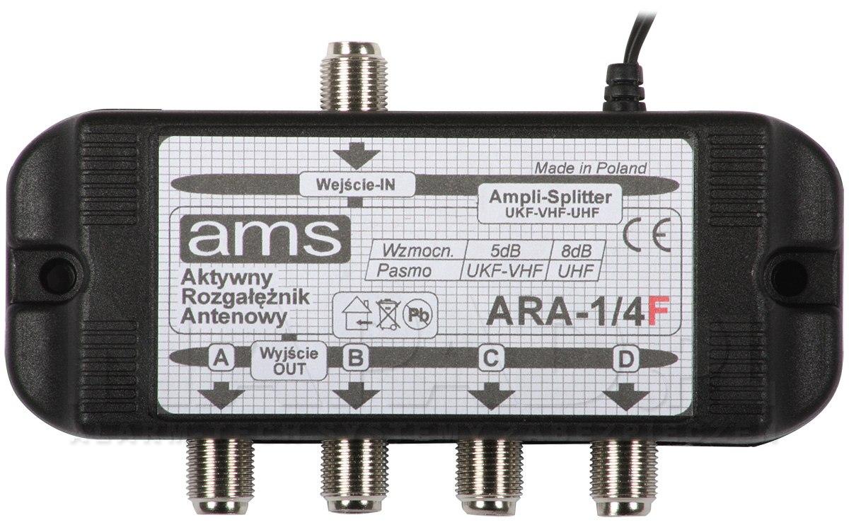 Rozgałęźnik aktywny ARA-1/4F