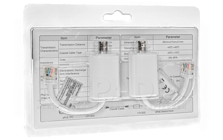 Zestaw extender ePoE EOC LR1002