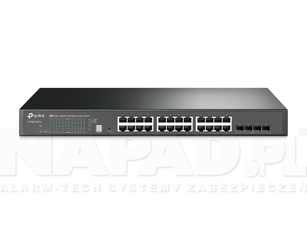 Switch gigabitowy, 24-portowy T1700G-28TQ