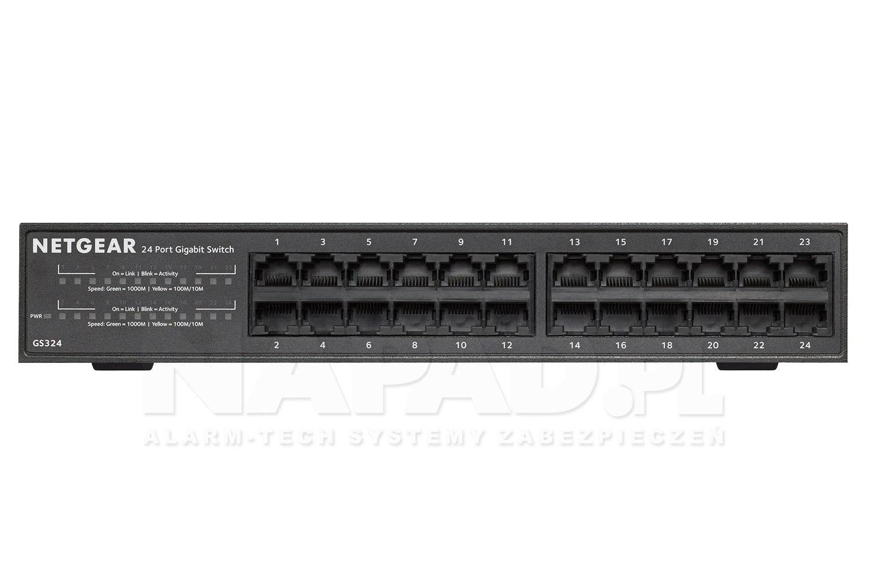 Switch gigabitowy 24-portowy GS324-100EUS