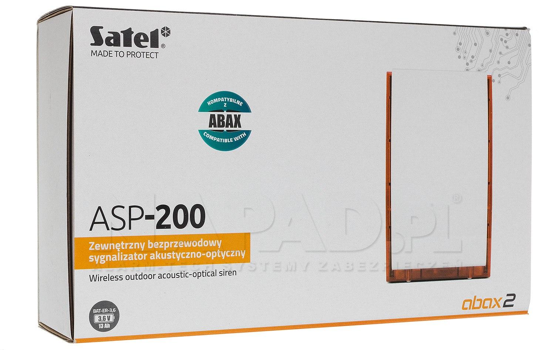 Sygnalizator zewnętrzny ASP-200 R