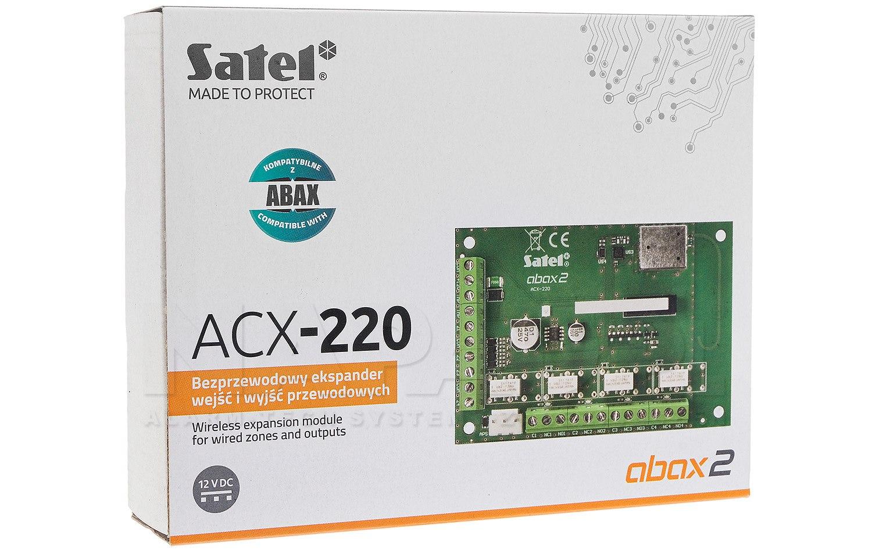 Bezprzewodowy ekspander wejść i wyjść przewodowych ACX-220