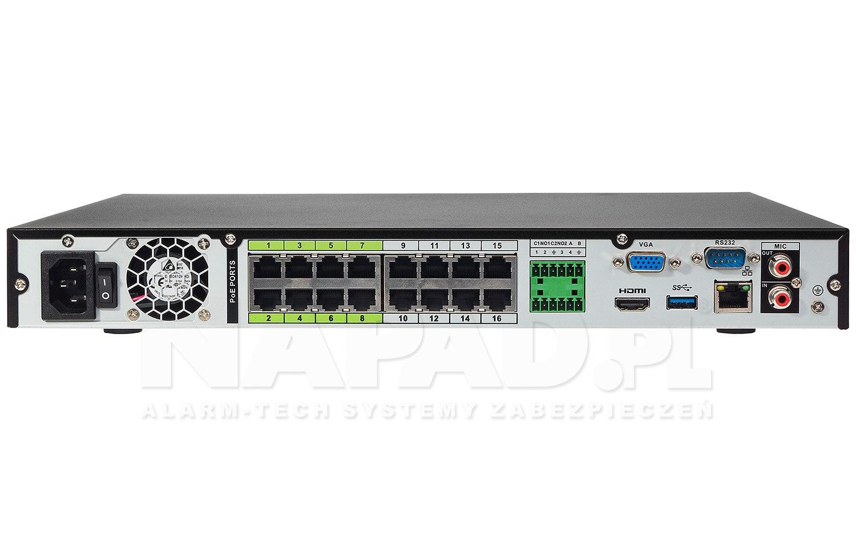 Rejestrator sieciowy AI DHI-NVR5216-16P-I