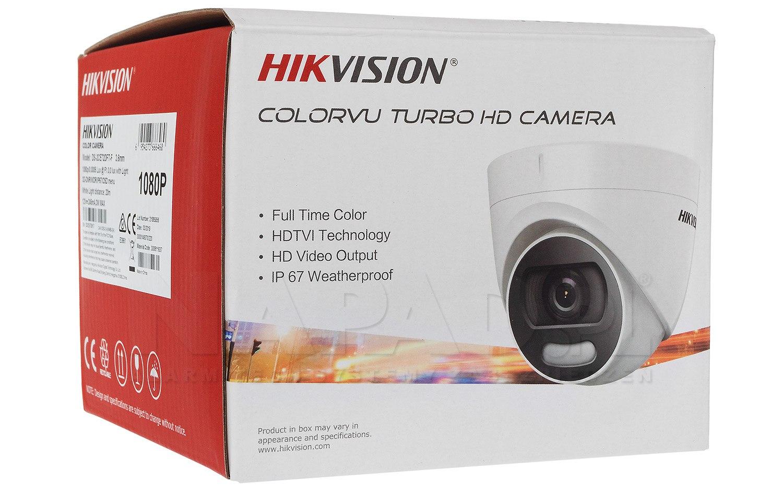 Kamera ColorVu Analog HD 2Mpx DS-2CE72DFT-F
