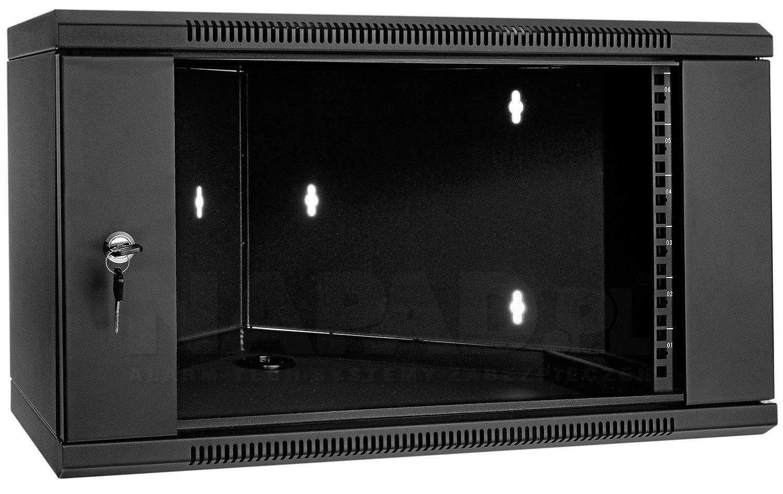 Szafa Rack 19'' 6U 600mm narożna wisząca WN6606