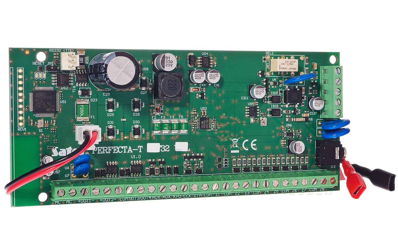 Płyta główna centrali alarmowej PERFECTA-T 32