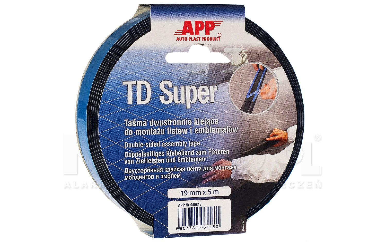 Taśma dwustronna APP TD Super 6mm/5m