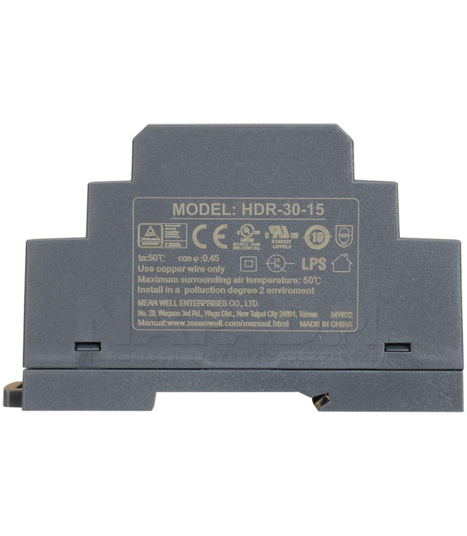 Zasilacz impulsowy HDR-30-15