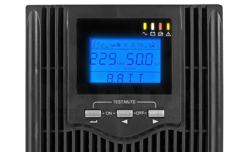 Zasilacz awaryjny UPS500S-LCD