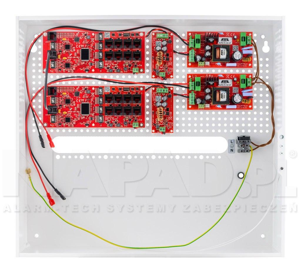 Switch 16-portowy PoE IPUPS-16-20-H
