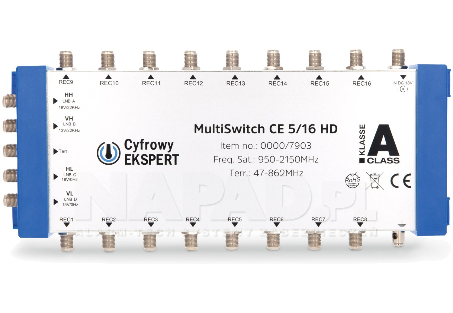 Multiswitch CE 5/16 HD