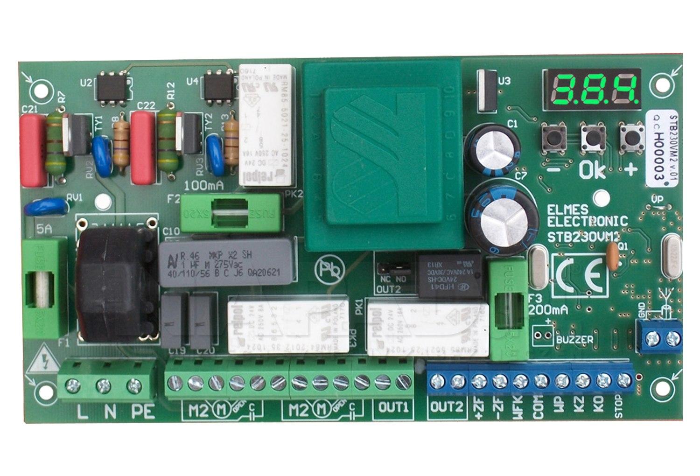 STB230VM2 - Sterownik do bramy jedno/dwuskrzydłowej