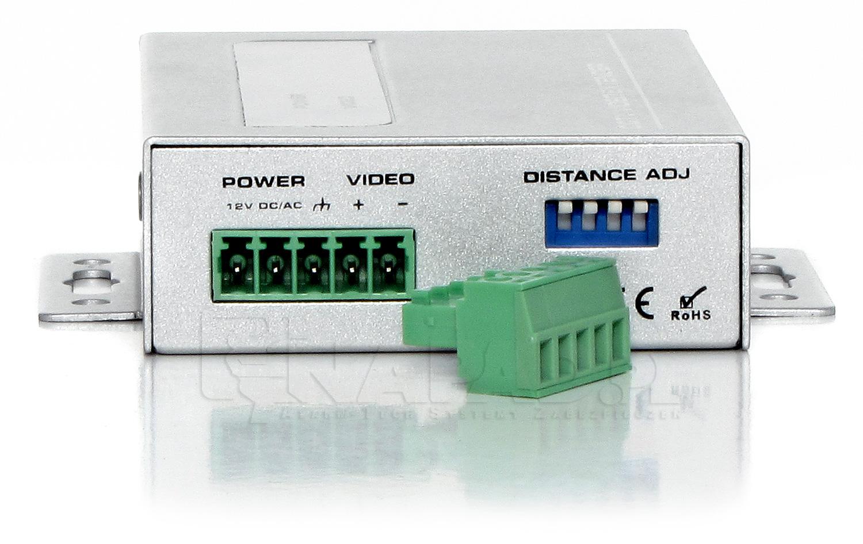 1-kanałowy aktywny odbiornik sygnału wizyjnego AT-UTP101AR