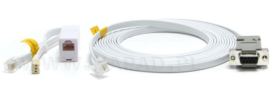 Kabel RS DB9FC/RJ-KPL do CA5, CA6, ACCO-KP, ACCO-KP-PS, VERSA SATEL