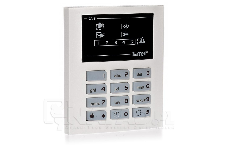 Zestaw alarmowy CA-5 P z manipulatorem CA-5 KLED-S