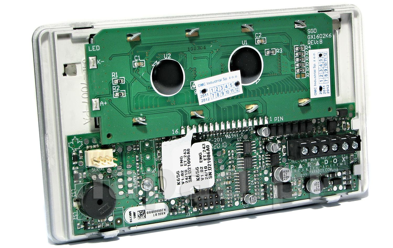 Manipulator LCD z klawiaturą sensoryczną K656